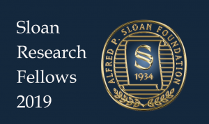 Image of logo for Sloan Research Fellows 2019